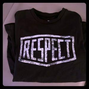 RESPECT UA Duane Johnson T-Shirt like new!